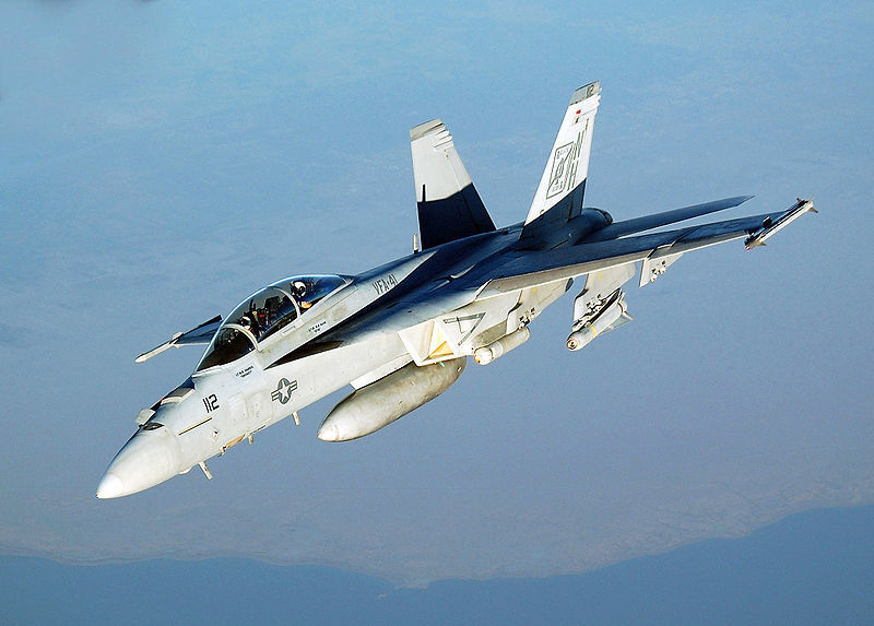 美海軍戰機在拉卡附近擊落阿薩德政府戰機