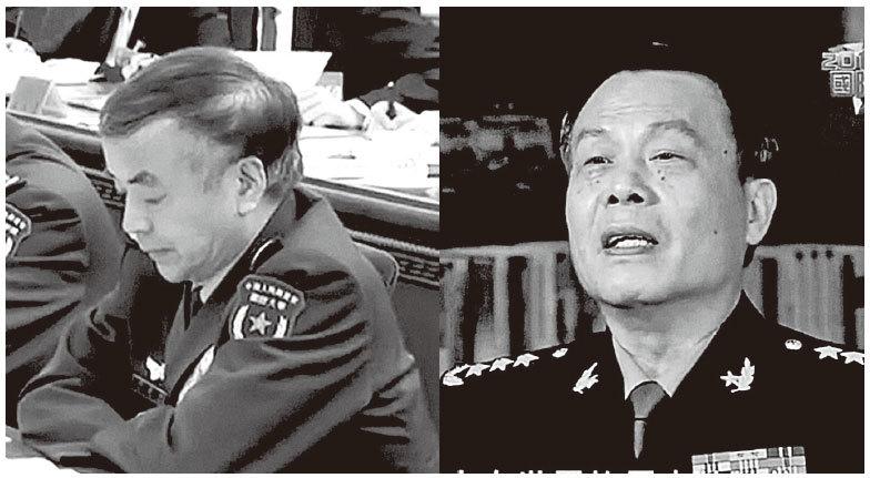 上將劉亞洲、蔡英挺提前退役