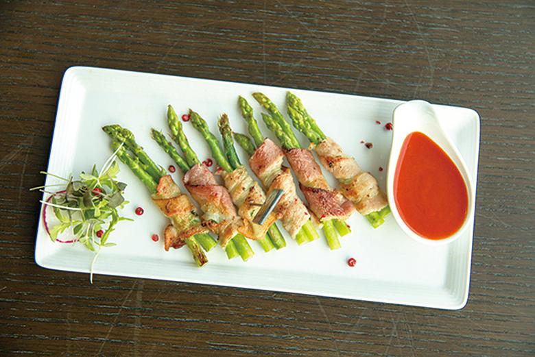 煙肉卷是非常經典常見的開胃菜。
