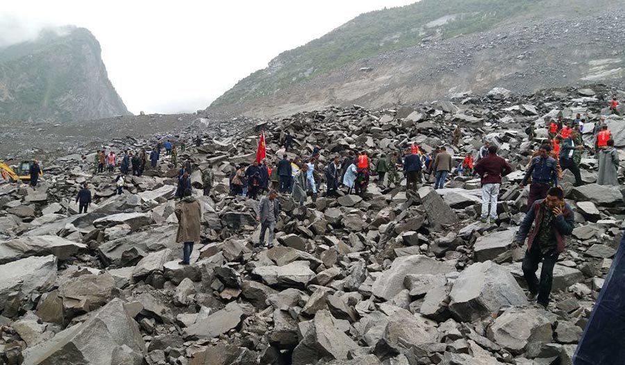 茂縣山體垮塌25死93失聯 或與汶川地震有關