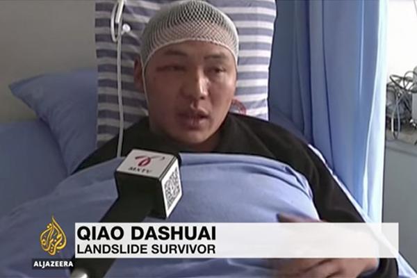 四川山體滑坡倖存者:聽到巨大怪聲