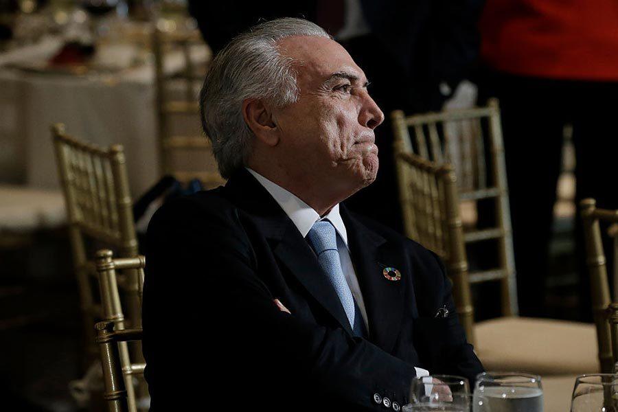 巴西總統特梅爾被控貪腐
