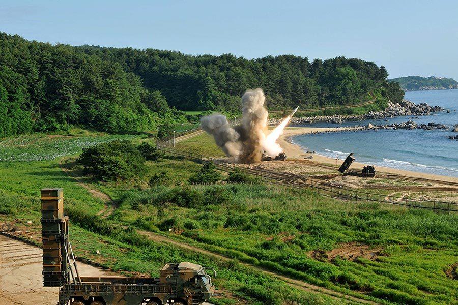 北韓試射洲際導彈 美韓攔截訓練展現實力