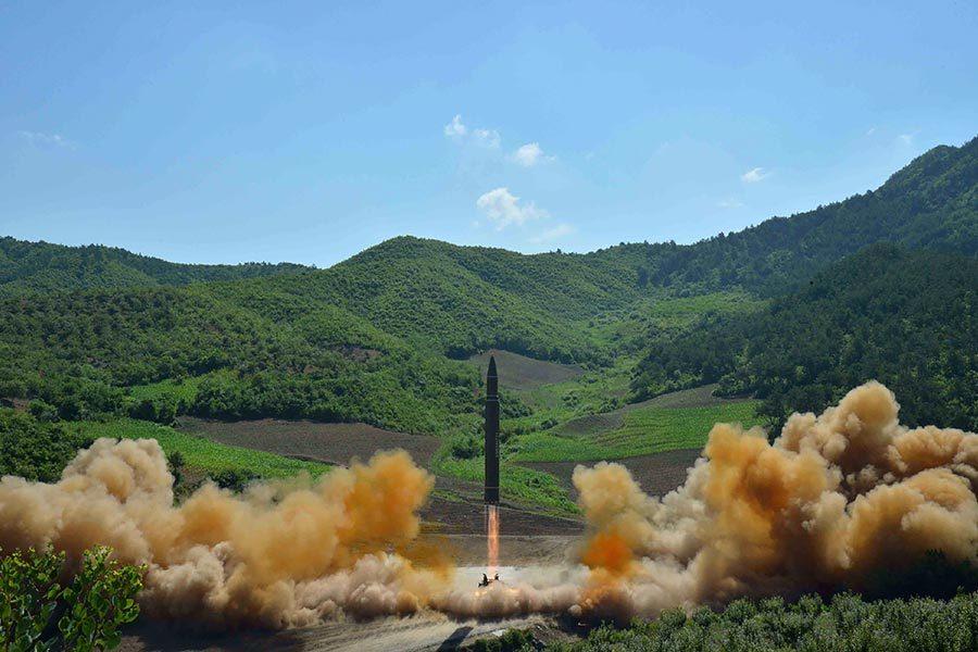 南韓情報局:北韓年前或試射一系列彈道導彈