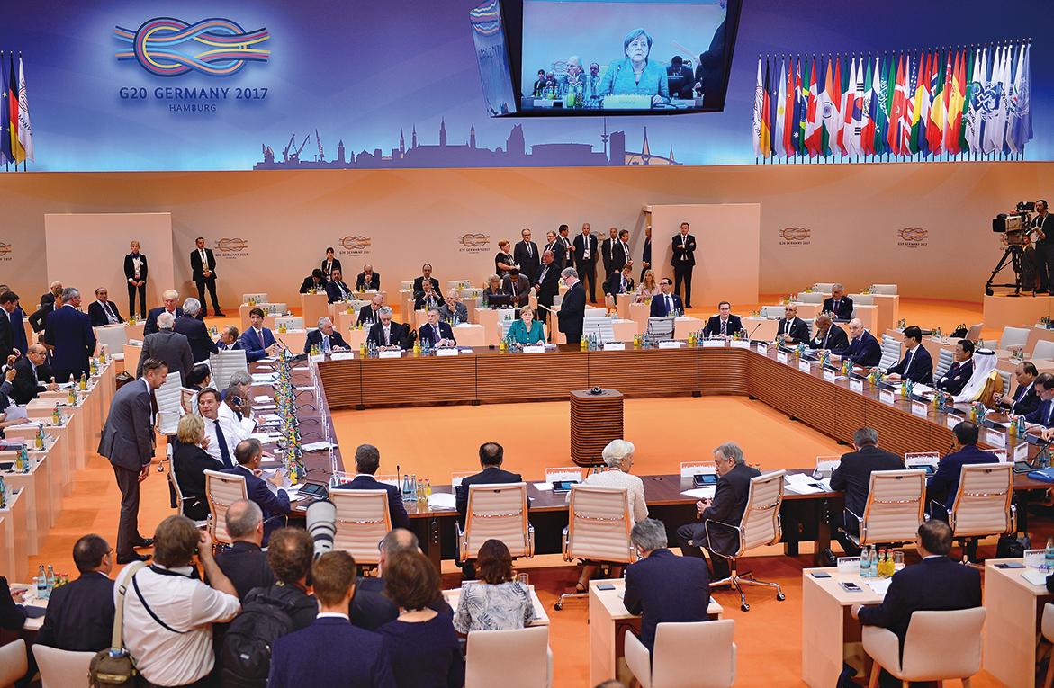 G20挑燈夜戰消歧見達成公報