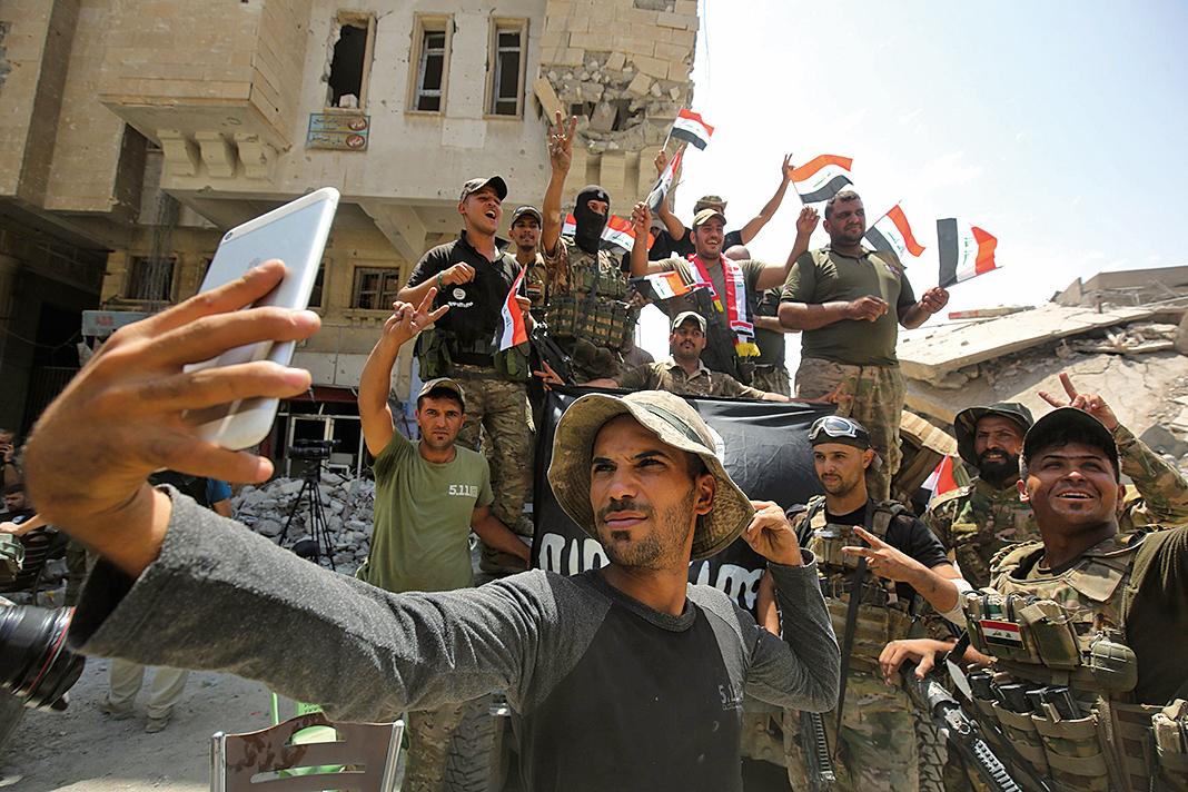 伊總理宣佈打擊IS戰役勝利