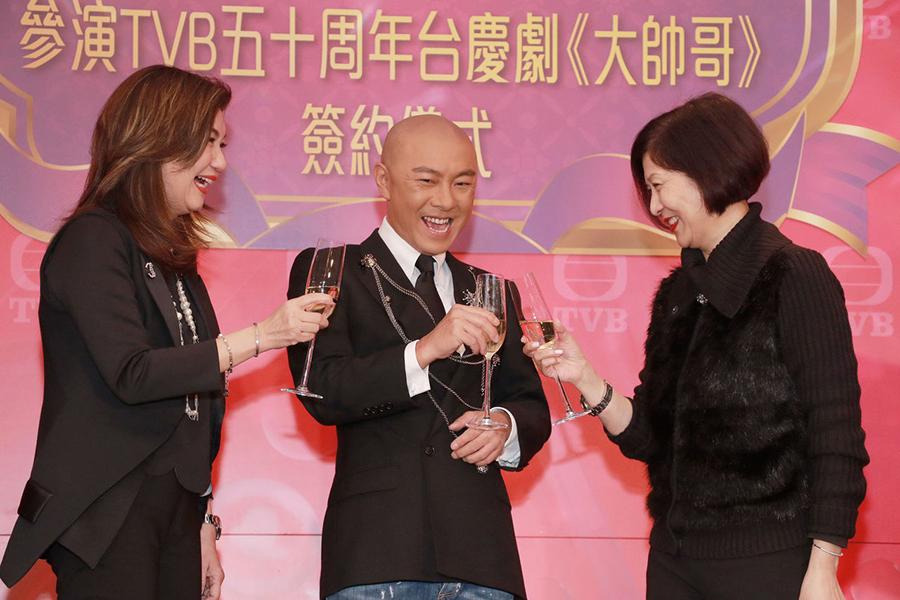 張衛健回巢無綫拍台慶劇用粵語拍戲好享受