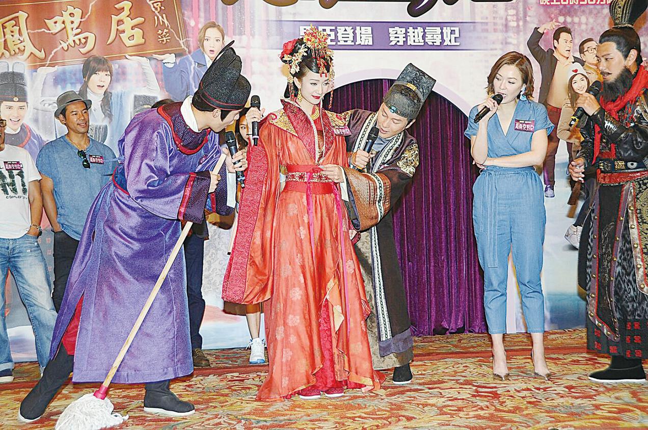 王君馨被取笑再辦婚禮 蕭正楠被好友「出賣」