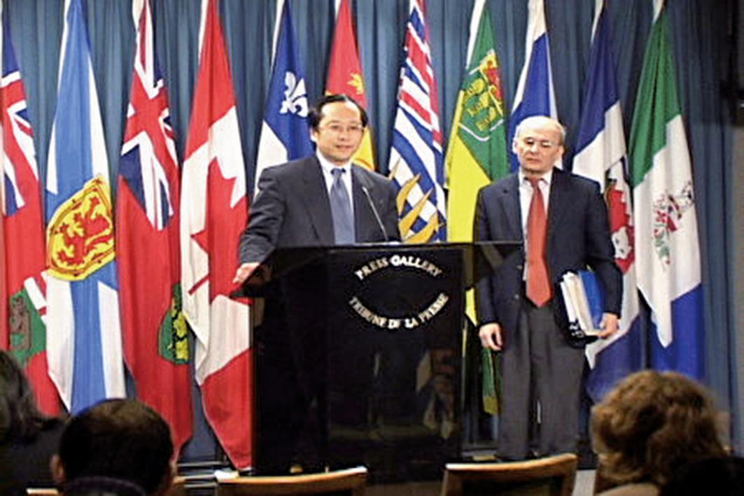 加國政府率先譴責中共迫害