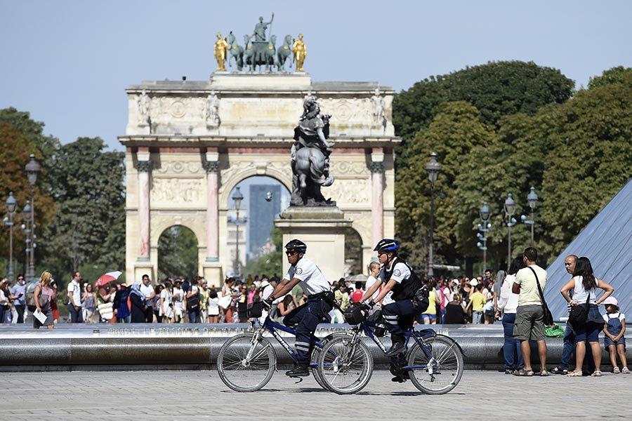 防犯罪 巴黎調整警力保護遊客安全