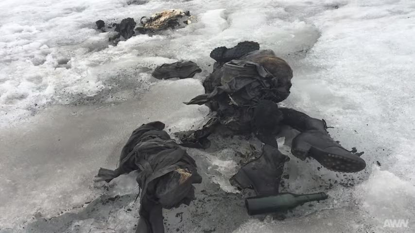 瑞士夫婦遭冰封失蹤75年 遺體保存完好