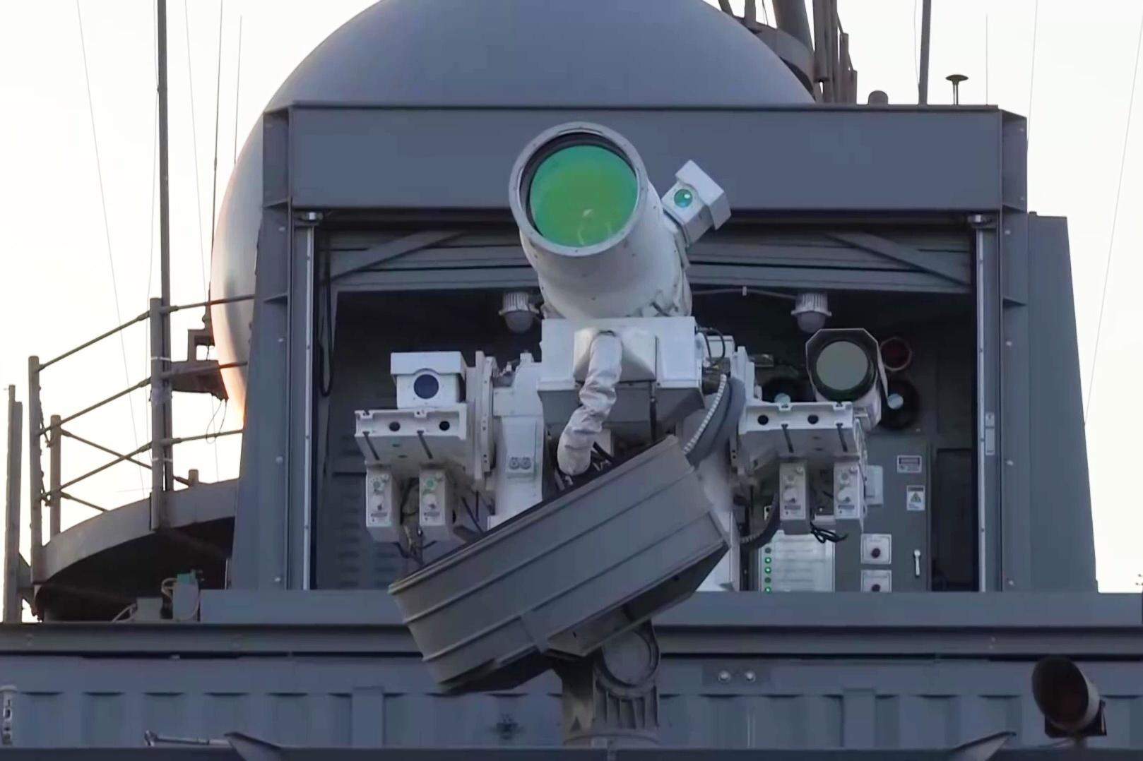 美艦裝備世界第一台激光炮 首部署波斯灣
