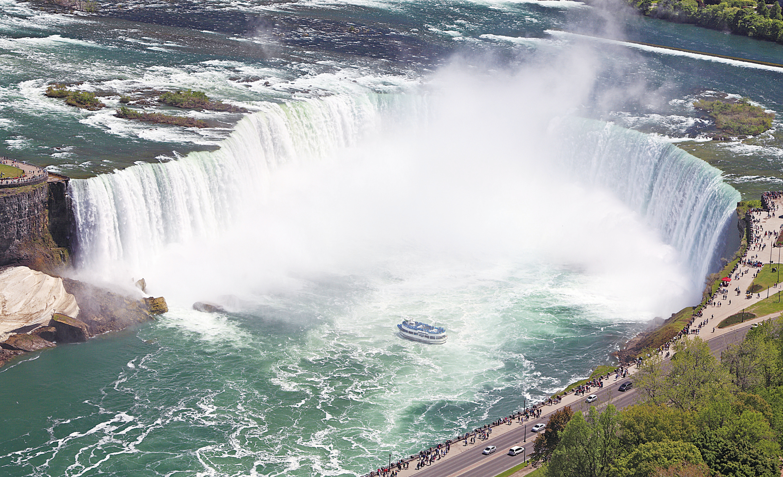 加拿大150周年之安大略篇 雷神之水天上來