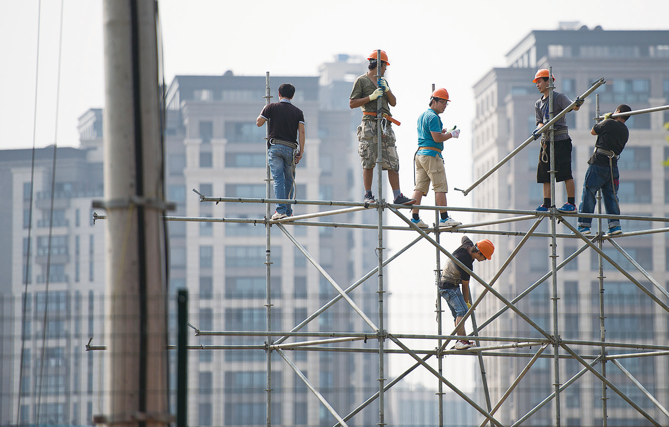 上海急表態穩定房產引關注