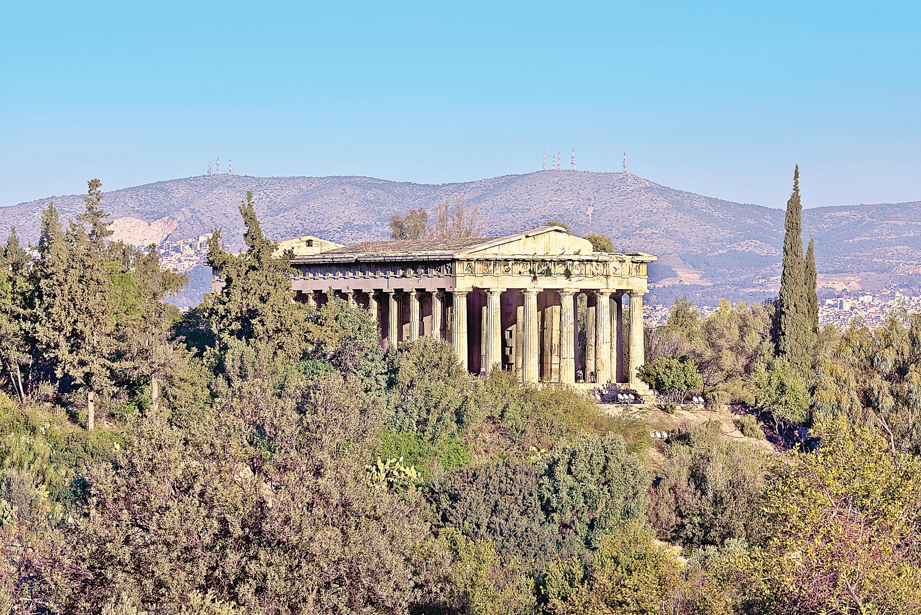 雅典建築——衛城Acropolis之外(一)