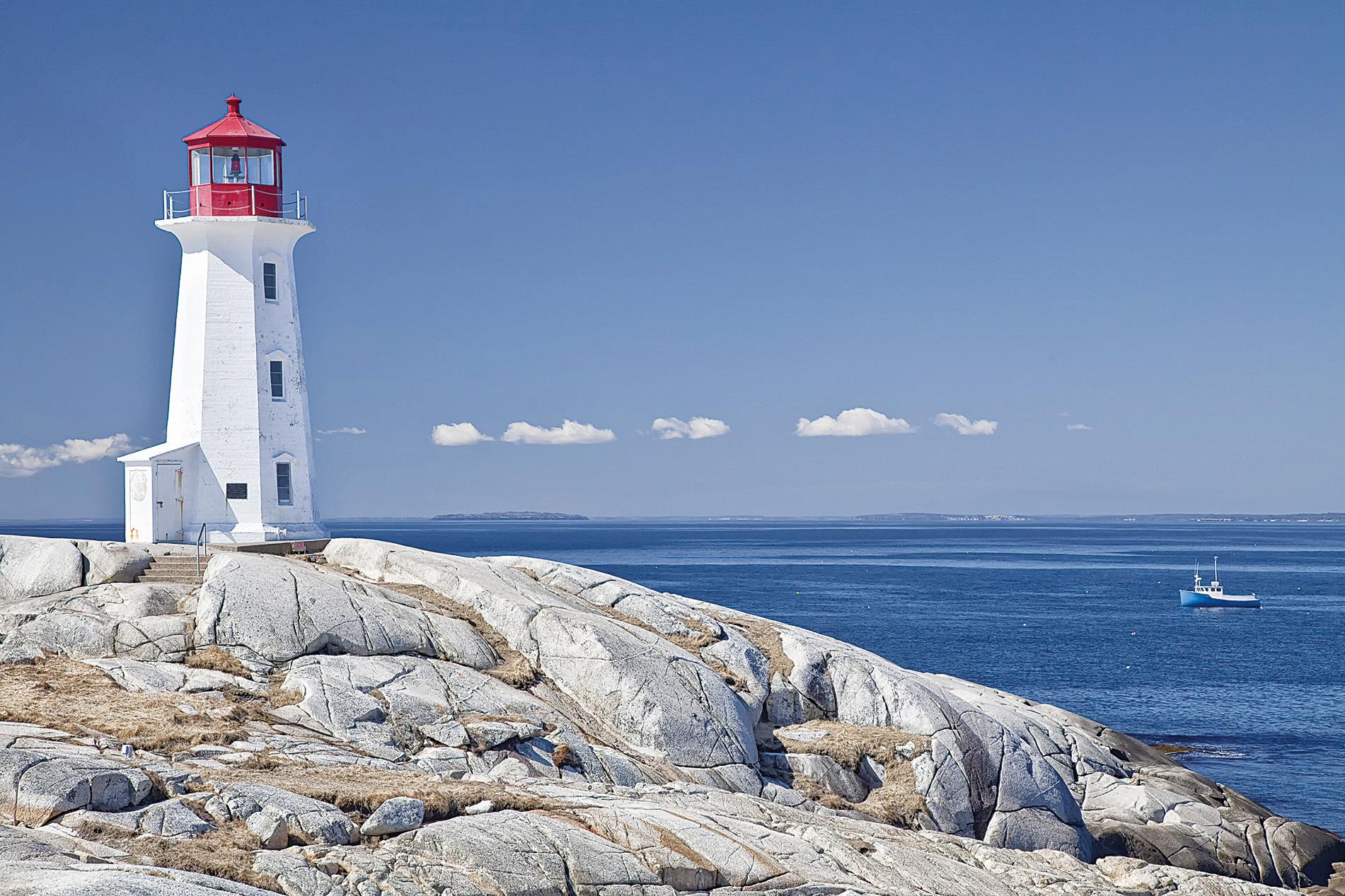 加拿大150周年之大西洋省篇 碧海藍天白燈塔