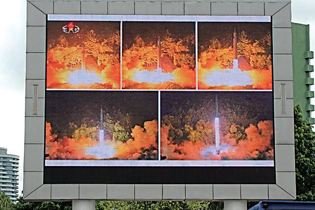 北韓續挑釁 揚言射導彈攻擊關島