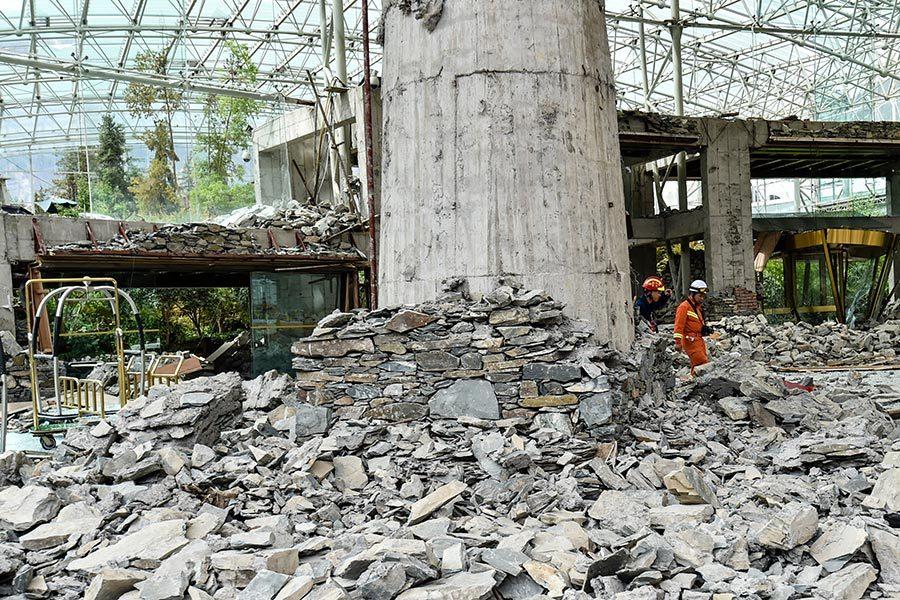 九寨溝地震遇難25人 失蹤者生還可能性很低