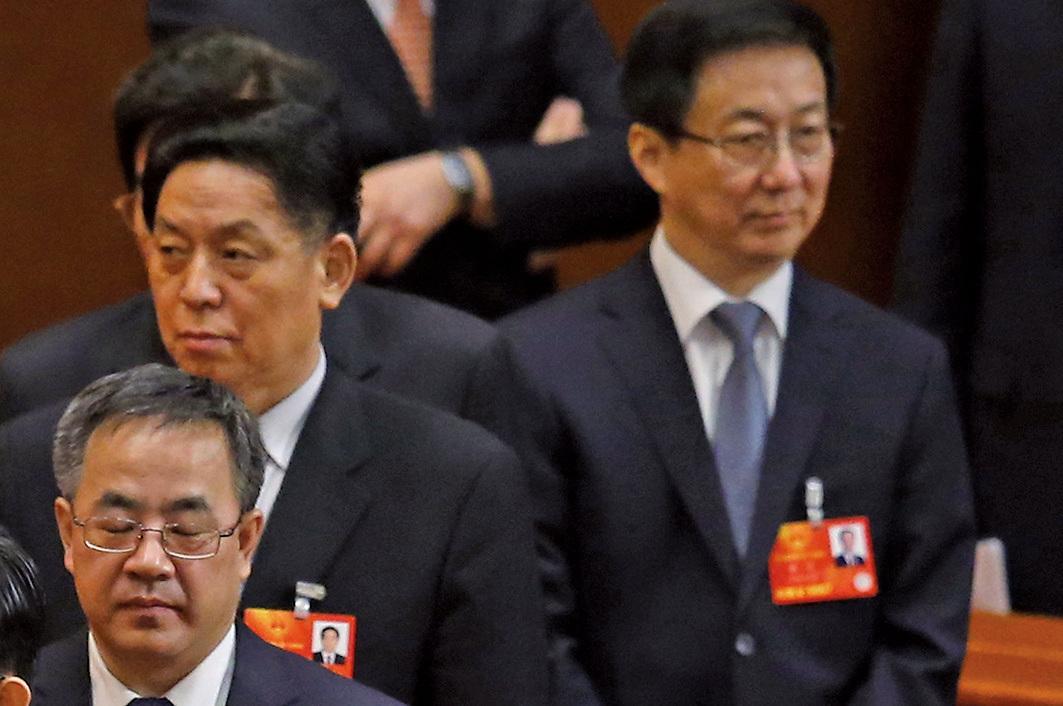胡春華、韓正沒去北戴河?