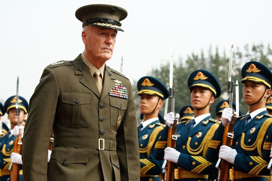 朝鮮半島局勢升級 美聯席參謀長鄧福德訪華