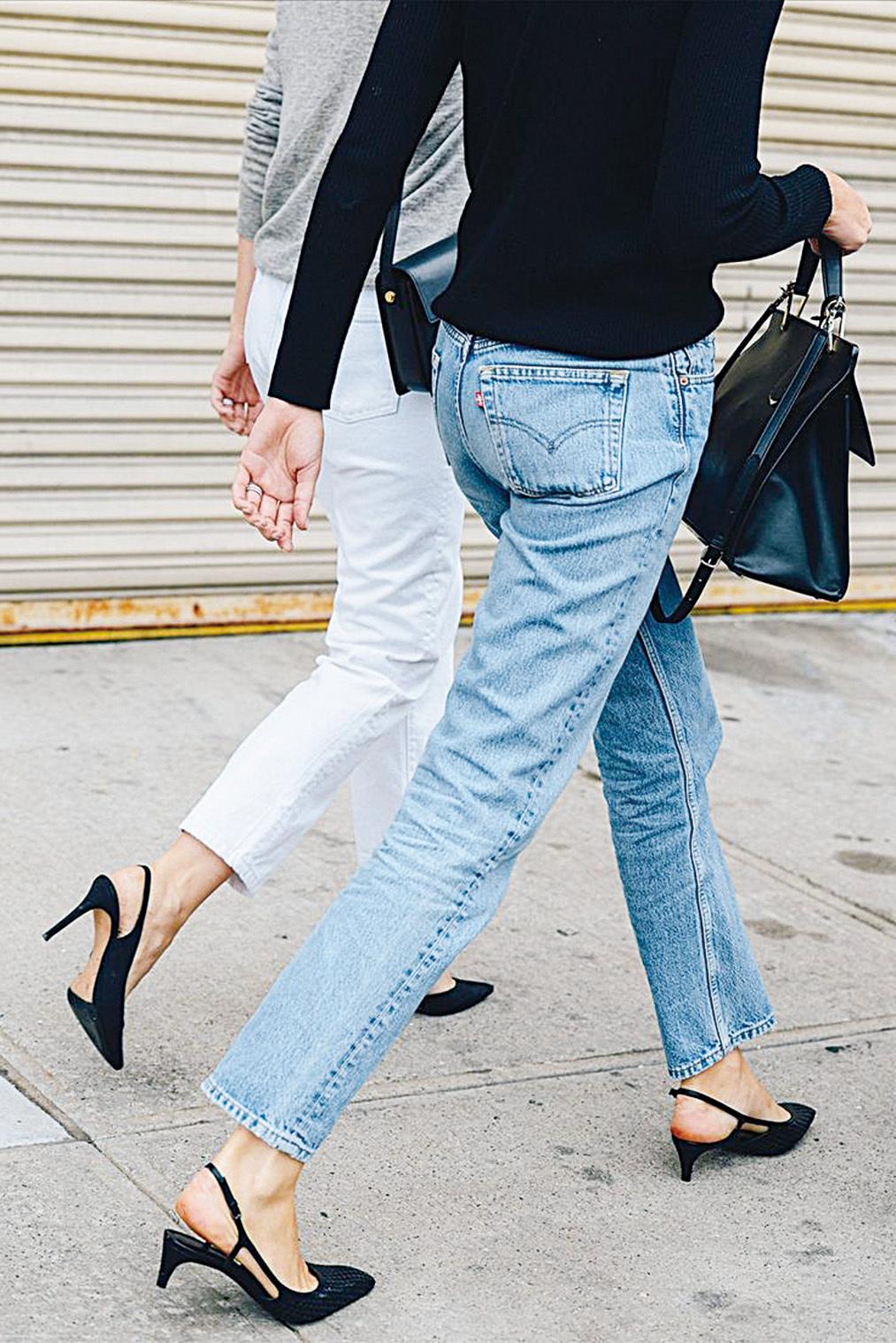 復古又時尚的Kitten Heels