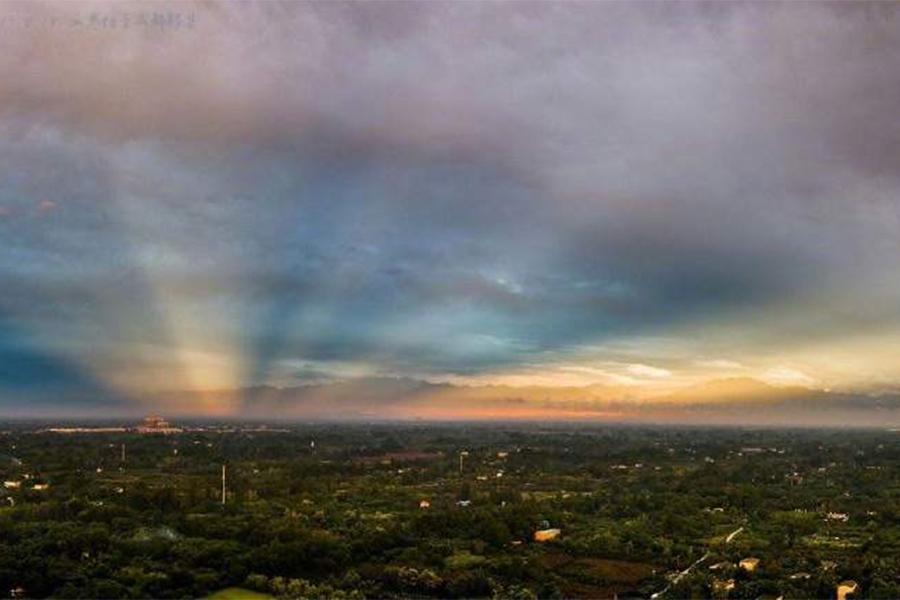 【組圖】天象有異!成都天空出現奇觀