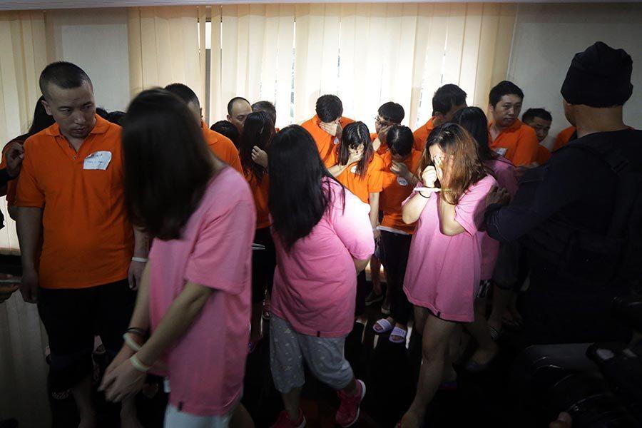 租高檔公寓行騙 225名中國人被柬國拘捕