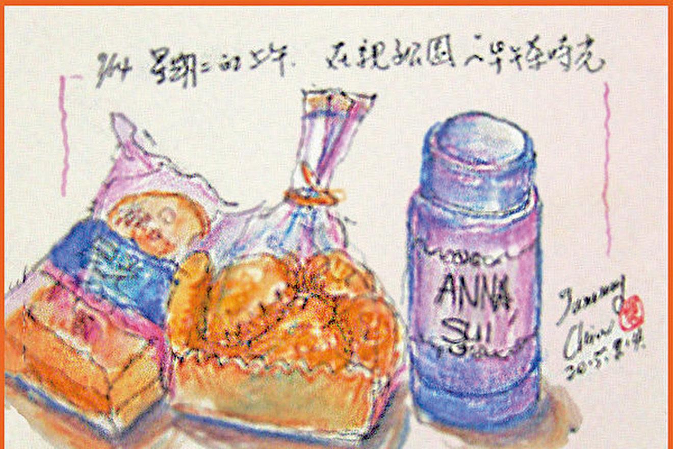 【彩繪生活】(324)食物的記憶