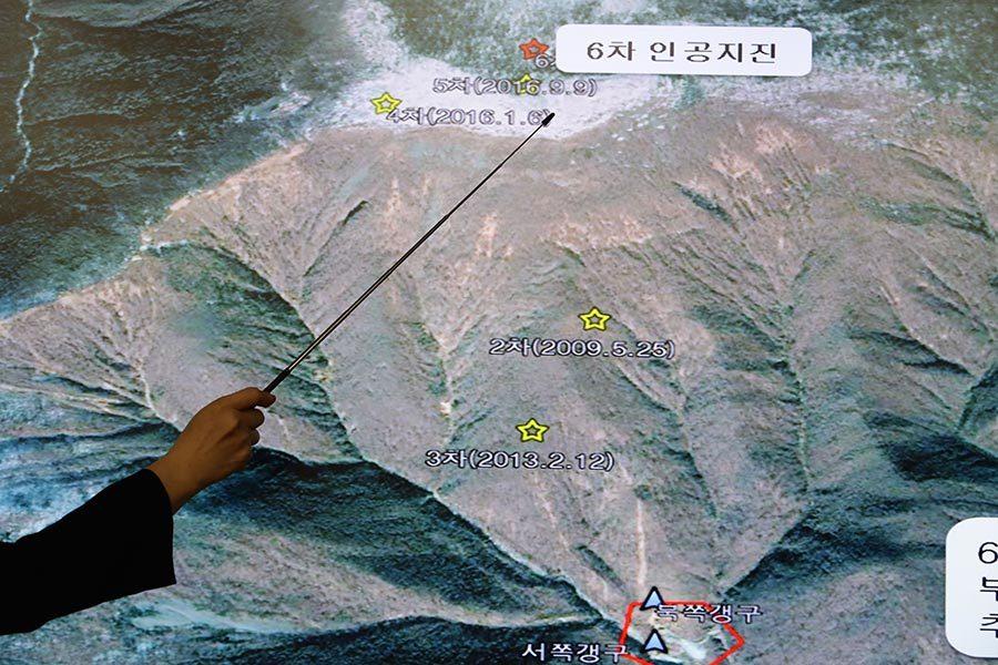 朝第六次核試引發地震 房屋倒塌 數十人死