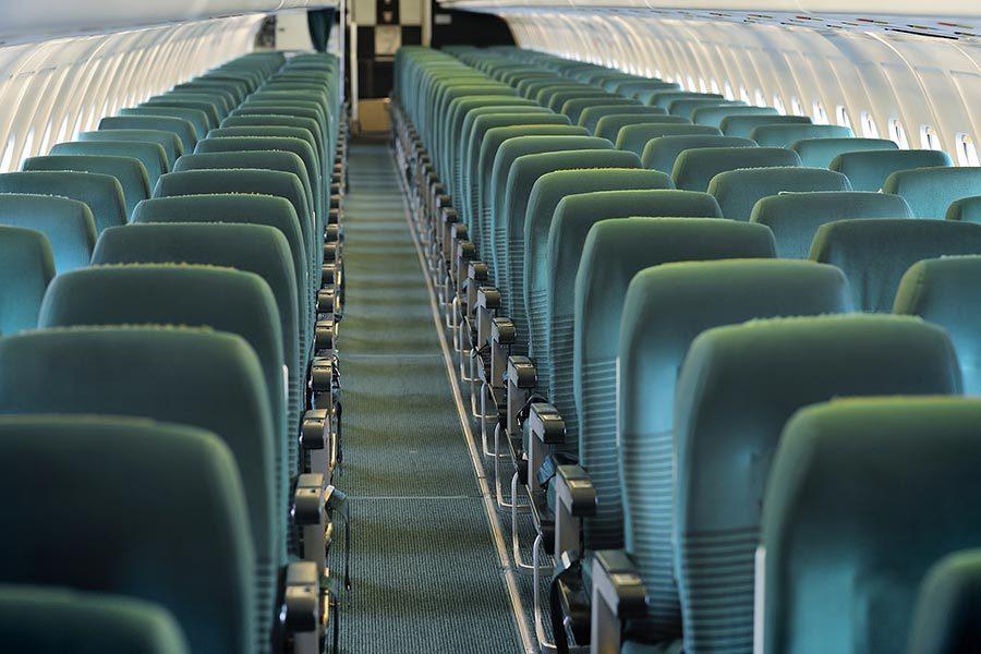 研究:乘客先上飛機 對健康不利