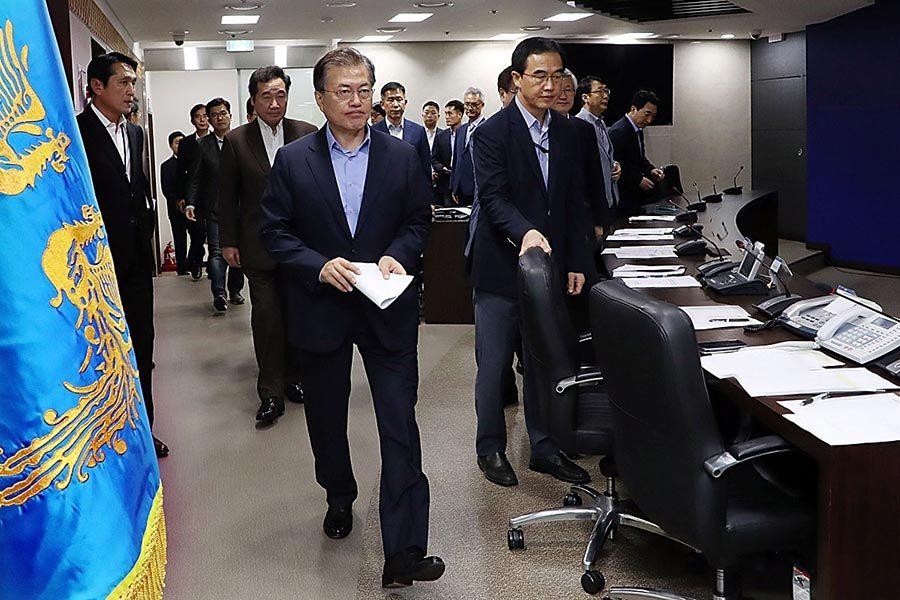 特朗普罕見批評南韓:跟北韓綏靖談話沒用