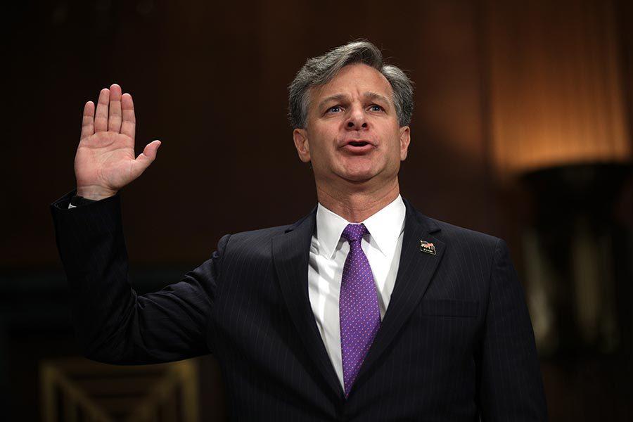 新任FBI局長:沒發現白宮干擾通俄門調查