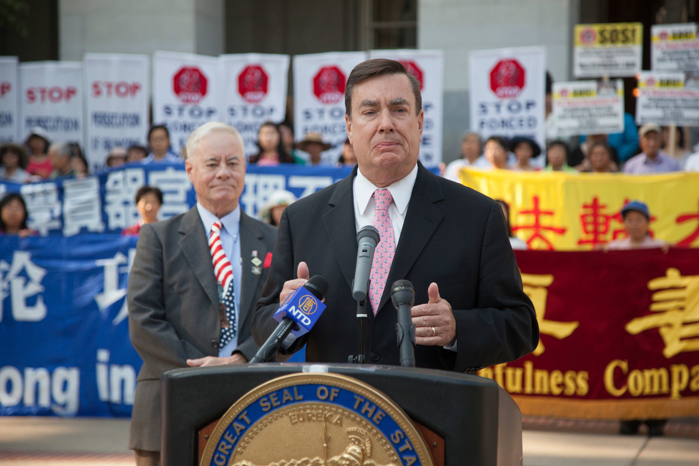高天韻:中共威脅加州政府 末路表演的警示