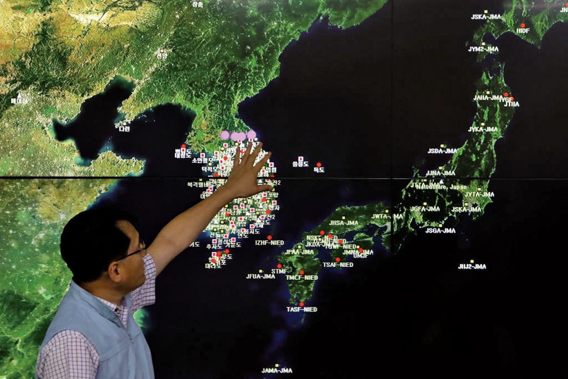 美促UN授權攔截北韓船隻