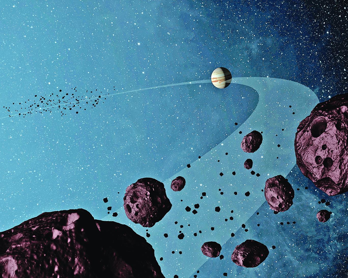 人類很幸運 躲過同時飛來三顆小行星