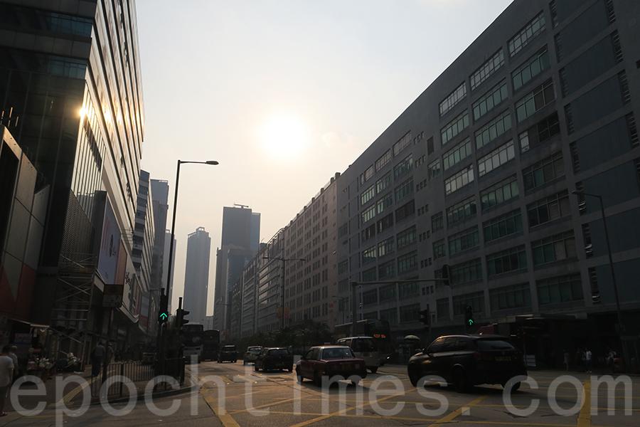 11區空氣污染指數爆錶
