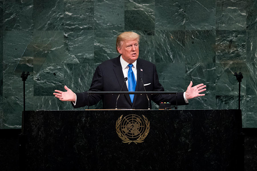抨擊伊朗核協議 特朗普:令美尷尬的最糟交易