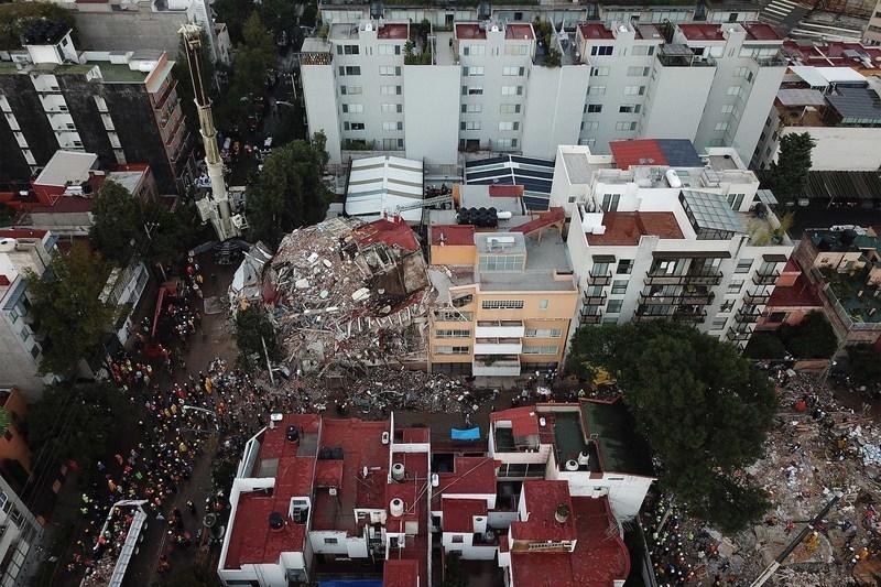 墨西哥強震重建 台灣將捐十萬美元賑災