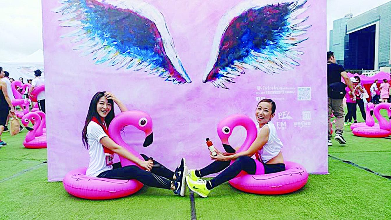裕美撐粉紅Barbie慈善跑  劉敬雯將演《狂舞派》續集