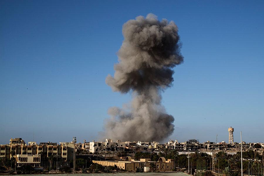 特朗普首次下令 美軍無人機空襲利比亞IS營地
