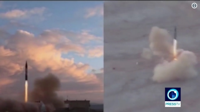 伊朗稱成功試射新型導彈 美官員:無中生有