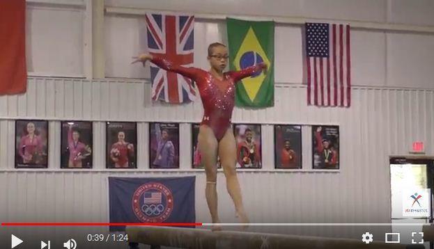 兩歲被領養 中國女孩代表美國參加世錦賽