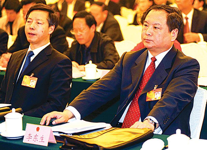 李東生 ● 曾任央視副台長 ● 2013.12.20落馬