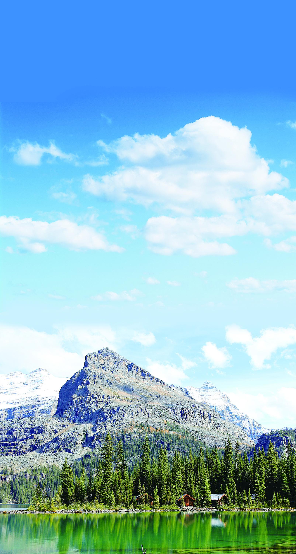秋水長天會佳人——加拿大歐哈拉湖探秘