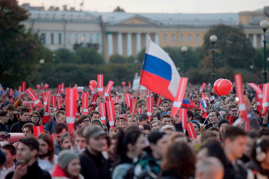 反普京連任示威遍及俄80城市 超過260人被捕
