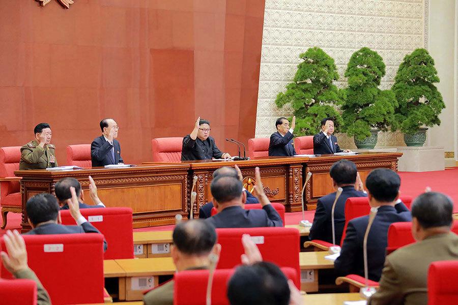 高層大換血 金正恩提拔九名親信進政治局