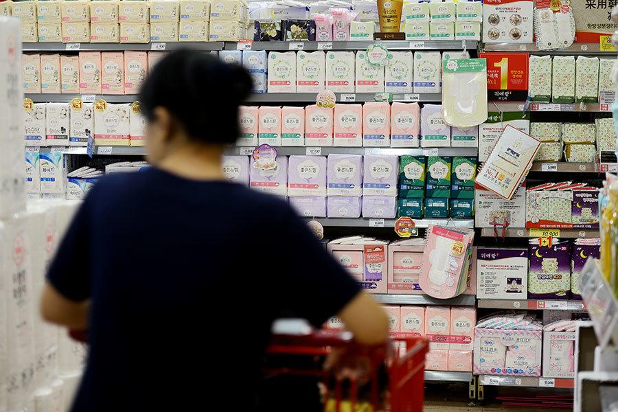 韓政府稱「毒衛生巾」安全 民眾仍疑惑不斷