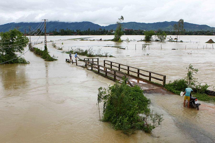越南水災災情擴大 40死22失蹤