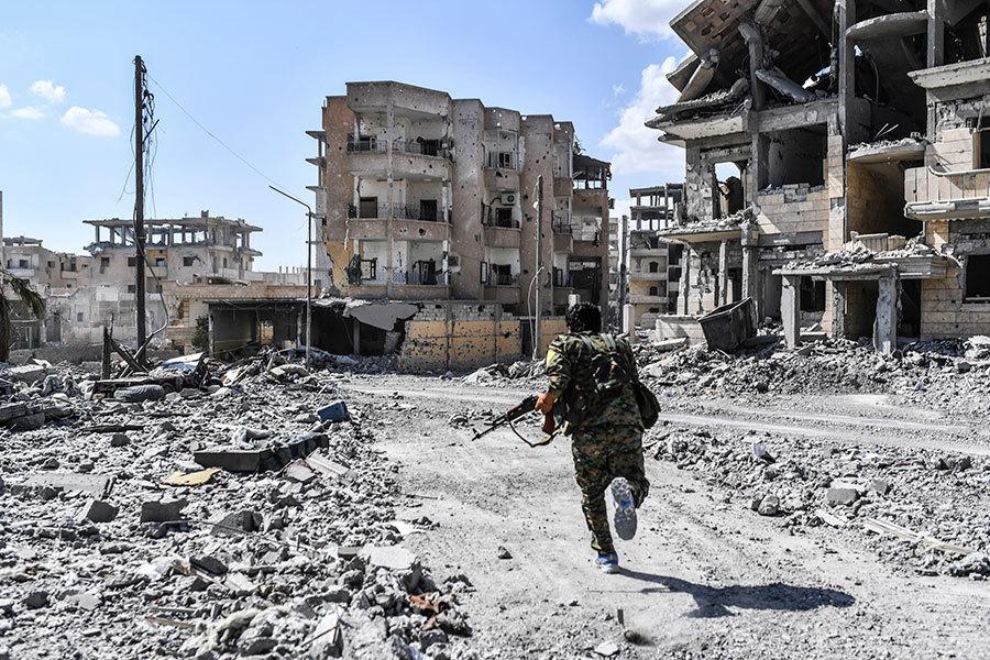 盟軍收復拉卡最後戰鬥打響 IS大勢已去