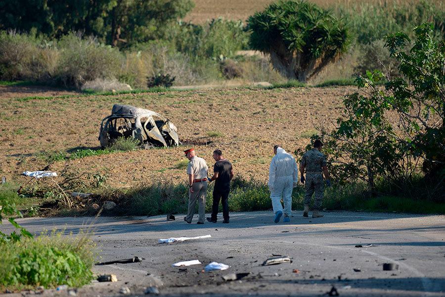政治謀殺?馬耳他著名的揭貪污女記者被炸死